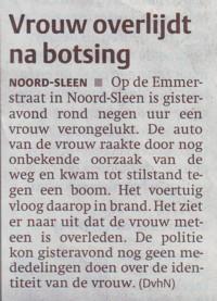 Dagblad van het Noorden 29 maart 2006