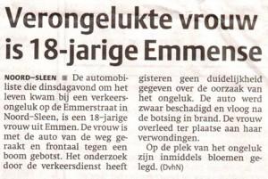 Dagblad van het Noorden 30 maart 2006
