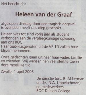 Dagblad van het Noorden 1 april 2006
